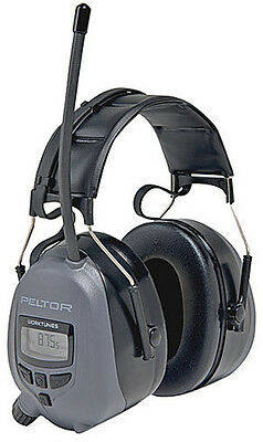 3m Wtd2600 Earmuffs Peltor Worktunes Over-the-head Digital Radio Headset
