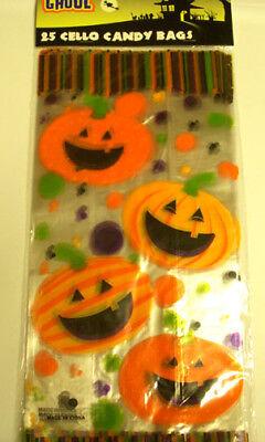 Halloween Candy Jack-o-lantern Happy Halloween Bag NIP Lot - Happy Halloween Candy