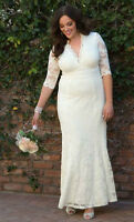 Never Worn Plus Size Lace Wedding Gown - 26/28 (4x)