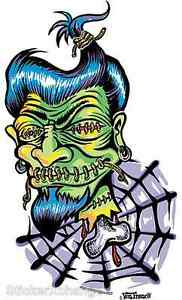 Shrunken-Head-Sticker-Decal-Kustom-Art-Von-Franco-VF1