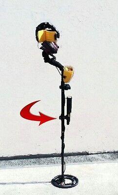 Metal Detector Bracket Holder Hunting Garrett Pinpointer OR Flashlight Carrying