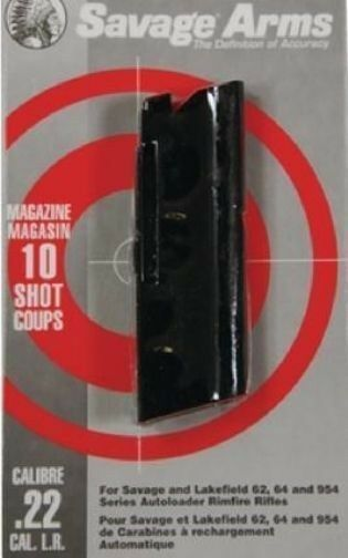 Savage Lakefield 62, 64, 954 Series 10 Shot Clip 22 LR Blue #30005 NEW