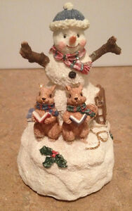 Collectable Snowman Figurine