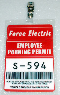Shaun Of The Dead Foree Electric Parking Permit