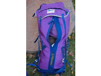 KARRIMOR Dougal Haston Alpiniste RUCKSACK first generation red&green in the 1975's
