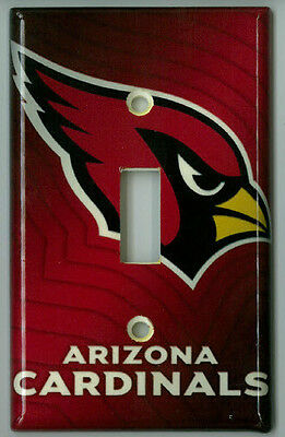 Arizona Cardinals Light Switch Plate Cover NFL Football Unique Gift Single Gang Cardinals Light Switch Covers