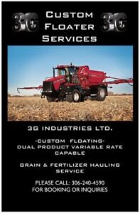 CUSTOM FLOATER SERVICES