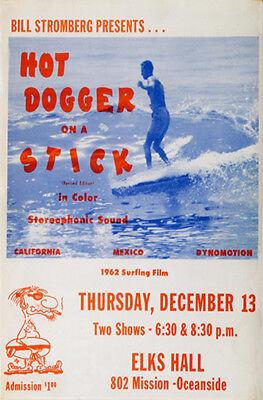 "1962 surf flick ""Hot Dog on a Stick"""