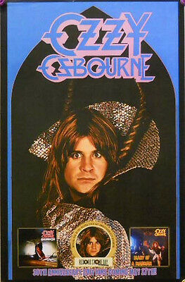 OZZY OZBOURNE POSTER, RECORD STORE DAY PROMO (R7)