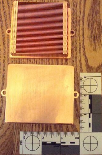 Lot=2 Pieces*Copper/Aluminum*Server*Heat Sinks*USED*FREE Shipping