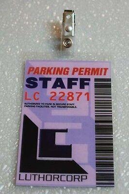 Smallville Parking Permit-Weyland-Luthorcorp Staff