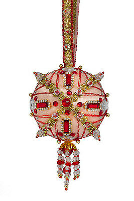 The Cracker Box Gypsy Jewels (Desert Sunset with Red Accents   Xmas Ornament Kit