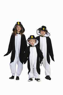 CHILD PENGUIN ZOO SOUTH POLE MADAGASCAR ANIMAL KIDS BOY GIRL PAJAMAS - Madagascar Costumes