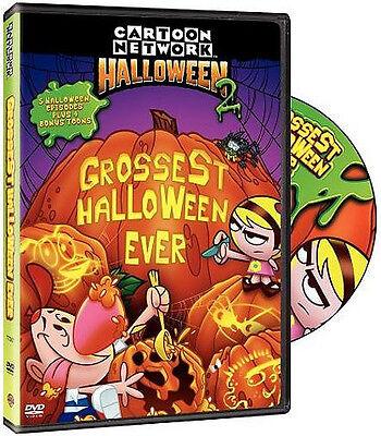 Cartoon Network Halloween 2 - Grossest Halloween Ever  (DVD)  NEW sold as is