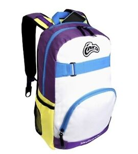 NEW NWT Skullcandy INK'D Antic BOOK BAG BACKPACK BOOKBAG Skull Candy WHITE