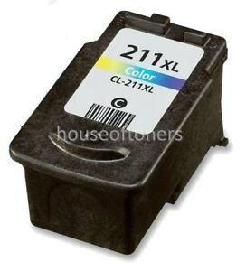 CL 211XL Color Ink Cartridge For Canon PIXMA MX330 MX340 MX350 MX360 MX410 MX420