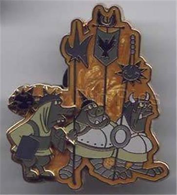 MALEFICENT'S GOONS SEARCH For Imagination 2002 EVENT SCREAM LE 3500 DISNEY PIN - Maleficent Goons