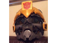 Transformer Bumblebee Talking Voice Changer Helmet Mask Hasbro Working