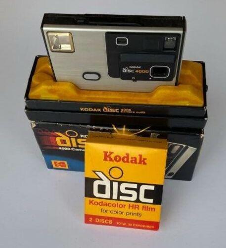 Vintage Kodak Disc 4000 Camera with Original Box