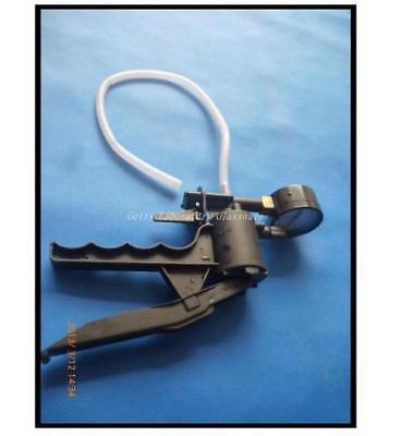 Mini Handheld Vacuum Pump With Gauge Displaying In Mm Hg