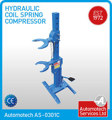 HYDRAULIC COIL SPRING COMPRESSOR, SUSPENSION MACPHERSON STRUT, FOR WORKSHOPS