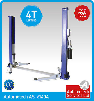 2 POST LIFT  CAR / VEHICLE RAMP/ HOIST  4 TON, 4000Kg , NEW TWO POSTER