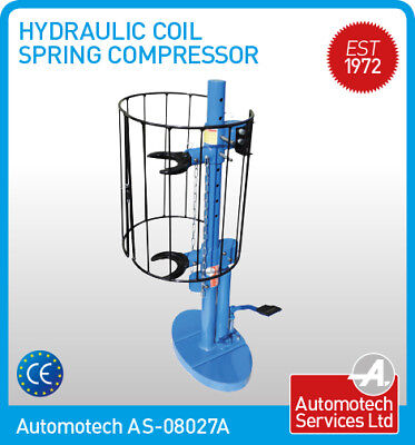 HYDRAULIC COIL SPRING COMPRESSOR SUSPENSION MACPHERSON STRUT TOOL FOR WORKSHOPS