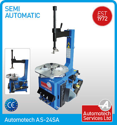 """24"""" SEMI AUTOMATIC TYRE CHANGER / TYRE CHANGING MACHINE 240V IDEAL FOR TYRE BAYS"""