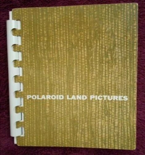 "Vintage Polaroid Land Pictures Album F1510 4"" x 4 1/2"""