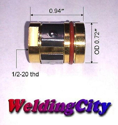 5 Nozzle Adapters 169-729 169729 For Miller M-25m-40 Hobart Mig Welding Guns