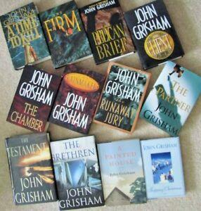 JOHN GRISHAM   Hardcover NOVELS