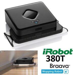 NEW IROBOT BRAAVA 380T FLOOR MOPPING ROBOT