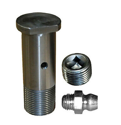 Idler Shaft 3 12 Long 180448 Includes Zerk And Plug Ditch Witch Trencher