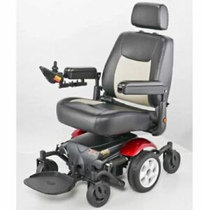 MERITS P326A VISION SPORT MID WHEEL DRIVE POWER WHEELCHAIR