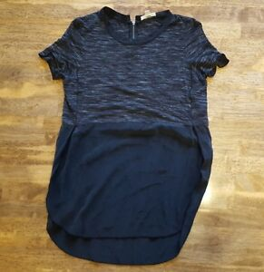 Women's Black/Grey Wilfred Top - Size Extra Small (XS) - $15