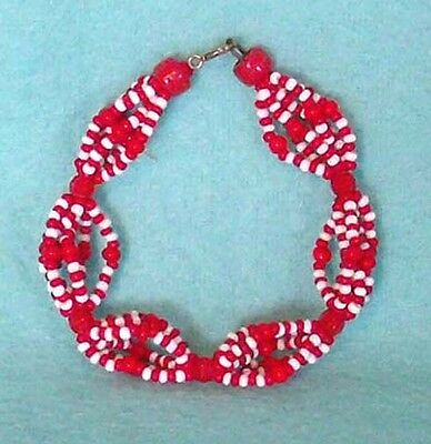 Woman's Vintage Bracelet in Red