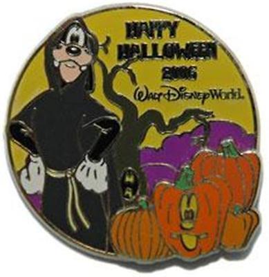 GOOFY Costume+PUMPKINS HAPPY HALLOWEEN 2006 LE 2500 WDW DISNEY PIN 49842](Disney Goofy Halloween Costume)