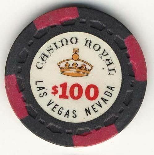 Casino Royal Las Vegas $100 Chip 1970