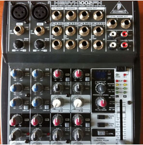 Behringer XENYX QX 1002 FX, LIke brand New, used twice