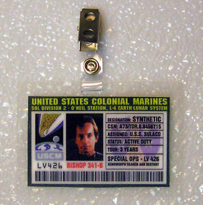 Aliens-ID-Badge-United-States-Colonial-Marines-Bishop