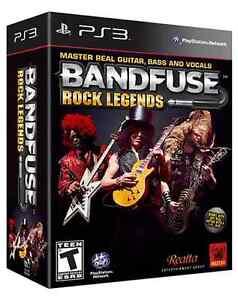 BANDFUSE ROCK LEGENDS PS3