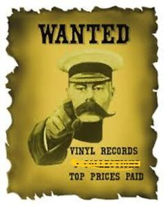 VINYL RECORDS WANTED! LARGE OR SMALL COLLECTIONS
