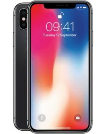 iPhone X 64gb 256gb like new box warranty