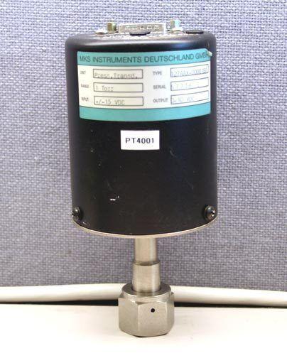 MKS Instruments 127A Baratron Pressure Transducer