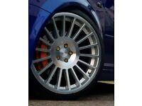 "19"" ROTIFORM IND ALLOYS 5x100 - golf mk4 audi tt Audi s3 air ride modified show car 1.8t"