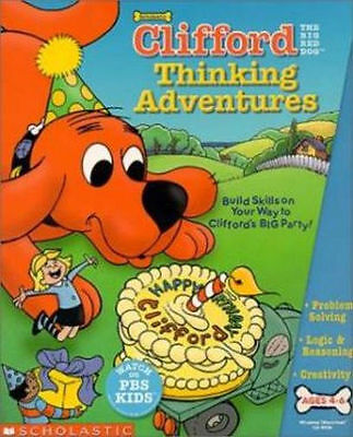 Scholastic Pbs Kids Clifford Thinking Adventures  Problem Solving  New In Box