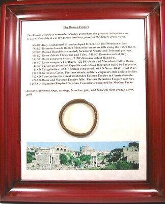 Authentic Ancient 100AD Bronze Greek Roman Macedonia Macedon Bracelet Plaque