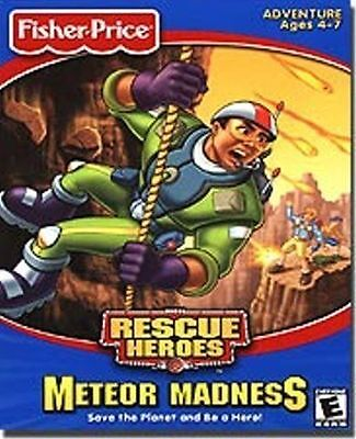 Fisher Price Rescue Heroes Meteor Madness  spark your child's imagination  NEW](Baby Hero Games)