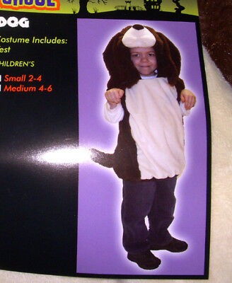 Dog Vest Halloween Child Costume S M NWT