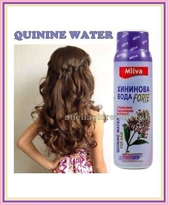 (MILVA QUININE WATER FORTE 100ml with More Quinine Anti Hair Loss Very Effective)